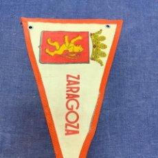 Banderines de colección: BANDERIN ZARAGOZA. Lote 223722771