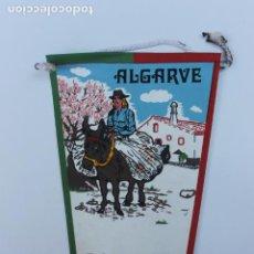 Banderines de colección: ANTIGUO BANDERIN ALGARVE, PORTUGAL AÑOS 60-70. Lote 223978360