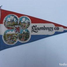 Banderines de colección: ANTIGUO BANDERIN LUXEMBOURG, LUXEMBURGO G.D. AÑOS 60-70. Lote 223978765