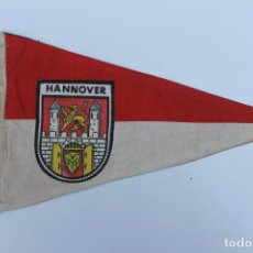 Banderines de colección: ANTIGUO BANDERIN HANNOVER, BUNDESLANDER ALEMANIA. AÑOS 60-70. Lote 223979121