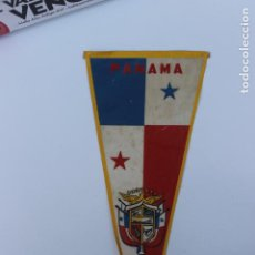 Banderines de colección: ANTIGUO BANDERIN PANAMA. AÑOS 60-70. Lote 223979310