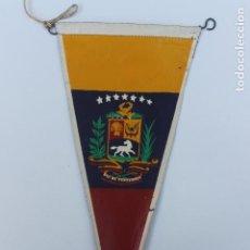 Banderines de colección: ANTIGUO BANDERIN REPUBLICA DE VENEZUELA. AÑOS 60-70. Lote 224017515