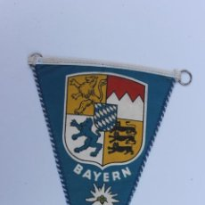 Banderines de colección: ANTIGUO BANDERIN BAYERN AÑOS 60-70. Lote 224018697