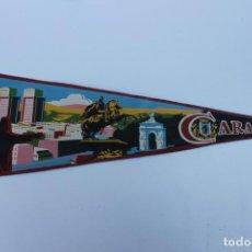Banderines de colección: ANTIGUO BANDERIN CARACAS, VENEZUELA, TAMAÑO GRANDE, AÑOS 60-70. Lote 224179322