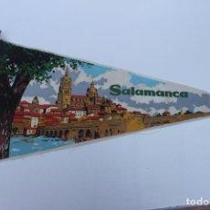 Banderines de colección: ANTIGUO BANDERIN, SALAMANCA , TAMAÑO GRANDE, AÑOS 60-70. Lote 224274067