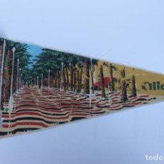 Banderines de colección: ANTIGUO BANDERIN, ALICANTE , TAMAÑO GRANDE, AÑOS 60-70. Lote 224274147