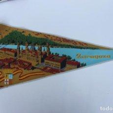 Banderines de colección: ANTIGUO BANDERIN, ZARAGOZA, TAMAÑO GRANDE, AÑOS 60-70. Lote 224274332