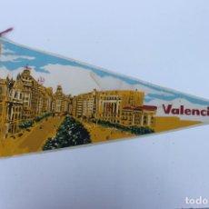 Banderines de colección: ANTIGUO BANDERIN, VALENCIA, TAMAÑO GRANDE, AÑOS 60-70. Lote 224274393