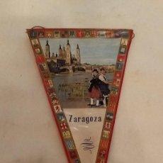 Banderines de colección: BANDERÍN ZARAGOZA. Lote 225550610
