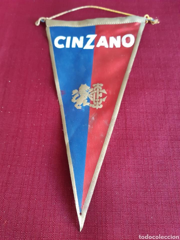 BANDERIN CINZANO, AÑOS 60 (Coleccionismo - Banderines)