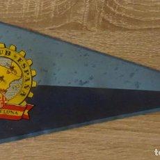 Banderines de colección: BANDERIN VESPA CLUB ESPAÑA BARCELONA. Lote 231838395