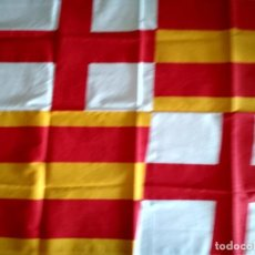 Banderines de colección: BANDERA SENYERA BARCELONA CREU DE SANT JORDI. Lote 238266025