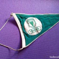 Banderines de colección: ANTIGUO BANDERIN DKW AUTO UNION AÑOS 50 60. Lote 238891110