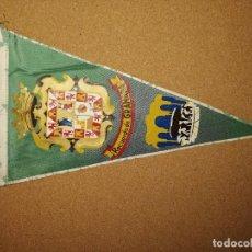Banderines de colección: BANDERÍN TELA PLASTIFICADA. 27,4CM DE LARGO. RECUERDO DE GRANADA. Lote 241178830