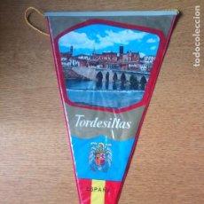 Bandierine di collezione: ANTIGUO BANDERÍN TORDESILLAS. Lote 241727810