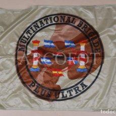 Bandierine di collezione: ANTIGUA BANDERA - MULTINATIONAL BRIGADE - PLUS ULTRA - 50 X 70 CM.. Lote 242911945