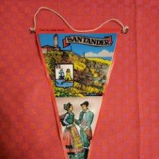 "Bandierine di collezione: BANDERIN ANTIGO SANTANDER "" FARO DEL CABO MAYOR "" "". Lote 253729260"