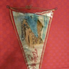 Banderines de colección: BANDERIN ANTIGO TOSSA DE MAR CON SU ENVOLTORIO DE PLASTICO. Lote 253797345