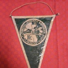 Banderines de colección: BANDERIN ANTIGUO PARROQUIA S.SEBASTIA MONTMAJOR CALDAS MONTBUY CON SU ENVOLTORIO DE PLASTICO. Lote 253813105