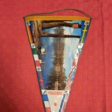 Banderines de colección: BANDERIN ANTIGUO PUIGCERDA PLASTIFICADO. Lote 253816020