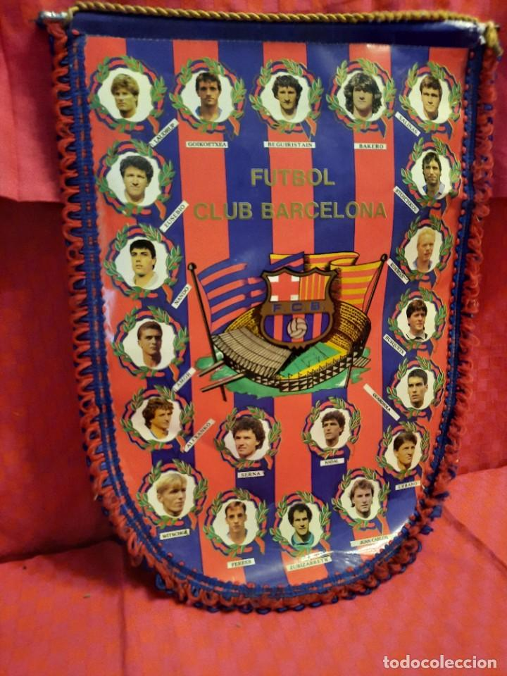 Banderines de colección: BANDERIN FUTBOL CLUB BARCELONA - Foto 2 - 253818650