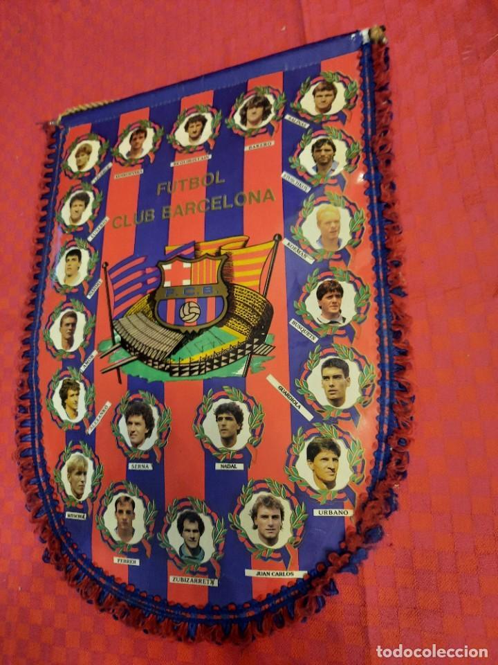 Banderines de colección: BANDERIN FUTBOL CLUB BARCELONA - Foto 3 - 253818650