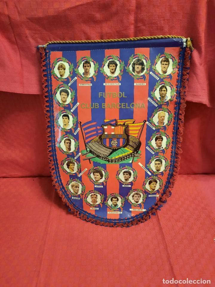 Banderines de colección: BANDERIN FUTBOL CLUB BARCELONA - Foto 5 - 253818650