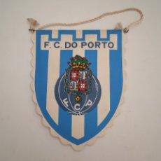 Banderines de colección: ANTIGUO BANDERÍN DE FÚTBOL - F.C. DE PORTO - OPORTO PORTUGAL. Lote 254017450
