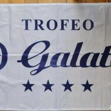 Banderines de colección: BANDERA REGATA TROFEO HOTEL GALATEA. CLUB NAUTICO PORTONOVO. Lote 254635085