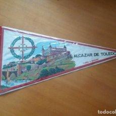 Banderines de colección: BANDERÍN. SOUVENIR. EL.ALCÁZAR DE TOLEDO.. Lote 255537700