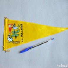 Banderines de colección: BANDERÍN DE LA RIA DE NAVIA. DESCENSO A NADO. Lote 256061830