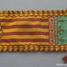 Bandierine di collezione: PEQUEÑO ESTANDARTE ANTIGUA BANDERA SEÑERA FALLAS VALENCIA F. Lote 259911445
