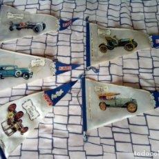 Banderines de colección: LOTE 5 BANDERINES COLECCION BIMBO ANTIGUOS. Lote 262345230