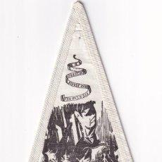 Banderines de colección: BANDERÍN EN TELA RECUERDO DE ESPAÑA PAMPLONA NAVARRA UNOS 20 CM. Lote 262924670
