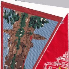 Banderines de colección: 2 BANDERINES DE MURCIA AÑOS 50. Lote 262926405