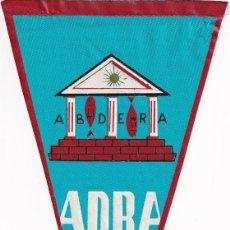 Banderines de colección: BANDERÍN , TURISMO, ADRA, ALMERÍA AÑOS 50. Lote 262928285