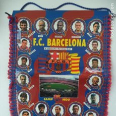Banderines de colección: BANDERIN F.C BARCELONA TEMPORADA 96 97 PRODUCTO OFICIAL. Lote 263260405