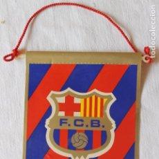 Banderines de colección: BANDERIN FUTBOL CLUB BARCELONA. Lote 269583513