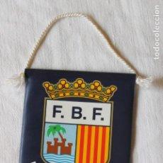 Banderines de colección: BANDERIN FEDERACION BALEAR DE FUTBOL. Lote 269606258