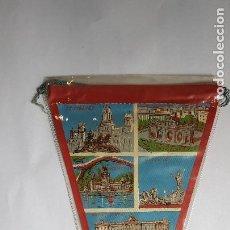 Banderines de colección: ANTIGUO BANDERIN - MADRID - DÉCADA DEL 60 - NUEVO(TODAVÍA EN SU PLÁSTICO). Lote 270359348