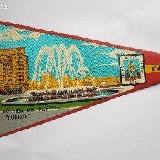 Banderines de colección: ANTIGUO BANDERIN - MURCIA - DÉCADA DEL 60 - PUENTE NUEVO. Lote 270359773