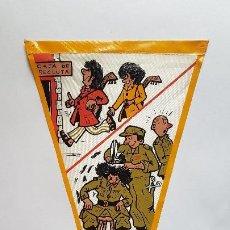 Banderines de colección: ANTIGUO BANDERIN - HUMOR MILITAR- DÉCADA DE LOS 60. Lote 270362083