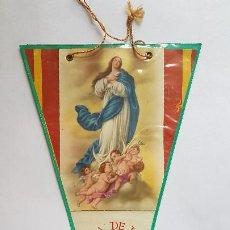 Banderines de colección: ANTIGUO BANDERIN - DIA DE LA MADRE - PLASTIFICADO. Lote 270366393