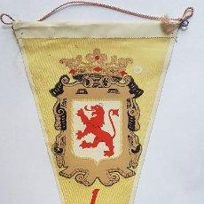 Banderines de colección: ANTIGUO BANDERIN - LEÓN - ESCUDO. Lote 270366808