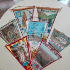 Banderines de colección: COLECCIÓN 7 BANDERINES CATALANES 1960. Lote 271594163