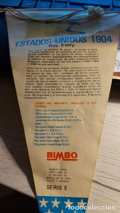 Banderines de colección: BANDERIN DE- LA 3 OLIMPIADA BIMBO- 26CM MIDE DE LARGO - Foto 2 - 276220113