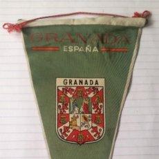 Banderines de colección: ANTIGUO BANDERIN GRANADA.. Lote 278227688