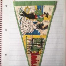 Banderines de colección: ANTIGUO BANDERIN MÁLAGA.. Lote 278234813