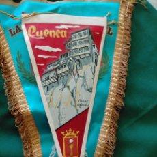 Banderines de colección: BANDERÍN CUENCA, CASAS COLGADAS. Lote 283191618