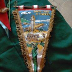 Banderines de colección: BANDERÍN SANTA CRUZ DE TENERIFE.. Lote 283201113